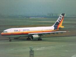 エルさんが、羽田空港で撮影した日本エアシステム A300B2K-3Cの航空フォト(飛行機 写真・画像)