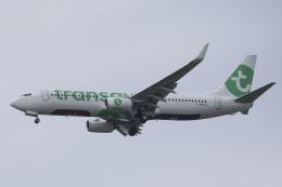 Sharp Fukudaさんが、パリ オルリー空港で撮影したトランサヴィア・フランス 737-8K2の航空フォト(飛行機 写真・画像)