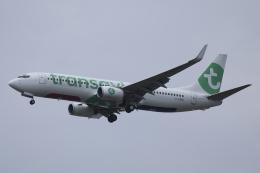 Sharp Fukudaさんが、パリ オルリー空港で撮影したトランサヴィア・フランス 737-85Hの航空フォト(飛行機 写真・画像)