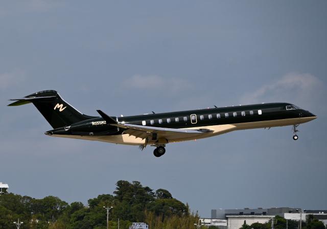 雲霧さんが、成田国際空港で撮影したアメリカ企業所有 BD-700-2A12 Global 7500の航空フォト(飛行機 写真・画像)
