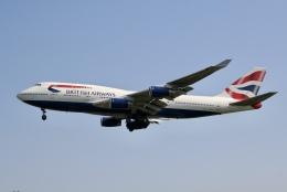 NIKEさんが、ロンドン・ヒースロー空港で撮影したブリティッシュ・エアウェイズ 747-436の航空フォト(飛行機 写真・画像)