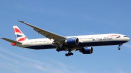 誘喜さんが、ロンドン・ヒースロー空港で撮影したブリティッシュ・エアウェイズ 777-36N/ERの航空フォト(飛行機 写真・画像)