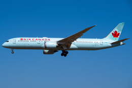 Tatsuya.Kさんが、成田国際空港で撮影したエア・カナダ 787-9の航空フォト(飛行機 写真・画像)