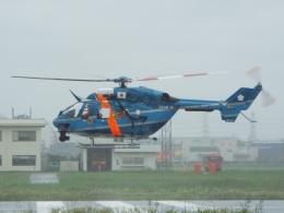 YaoRJOYさんが、八尾空港で撮影した京都府警察 BK117C-1の航空フォト(飛行機 写真・画像)