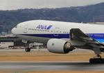 ふじいあきらさんが、伊丹空港で撮影した全日空 777-281の航空フォト(飛行機 写真・画像)