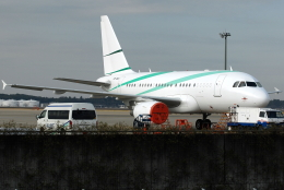 jun☆さんが、成田国際空港で撮影したナショナル・エア・サービス A318-112 CJ Eliteの航空フォト(飛行機 写真・画像)