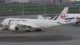 Garnet Worldさんが、羽田空港で撮影した日本航空 A350-941の航空フォト(飛行機 写真・画像)