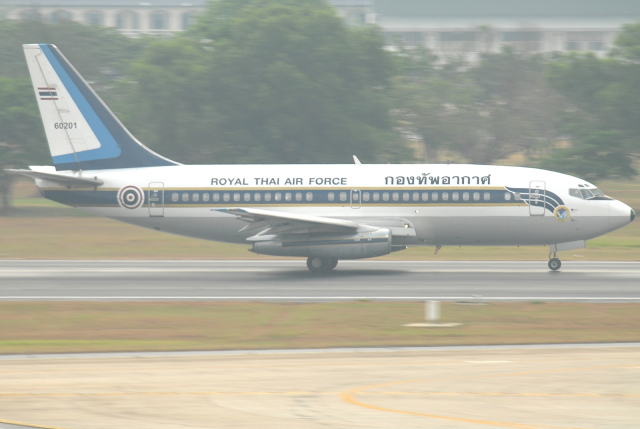 jun☆さんが、ドンムアン空港で撮影したタイ王国空軍 737-2Z6/Advの航空フォト(飛行機 写真・画像)