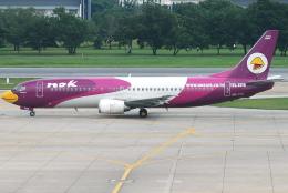 jun☆さんが、ドンムアン空港で撮影したノックエア 737-4D7の航空フォト(飛行機 写真・画像)