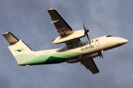 kinsanさんが、オスロ国際空港で撮影したヴィデロー航空 DHC-8-103 Dash 8の航空フォト(飛行機 写真・画像)