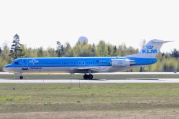 kinsanさんが、オスロ国際空港で撮影したKLMシティホッパー 100の航空フォト(飛行機 写真・画像)