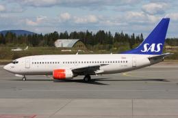 kinsanさんが、オスロ国際空港で撮影したスカンジナビア航空 737-783の航空フォト(飛行機 写真・画像)