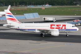kinsanさんが、フランクフルト国際空港で撮影したチェコ航空 A319-112の航空フォト(飛行機 写真・画像)
