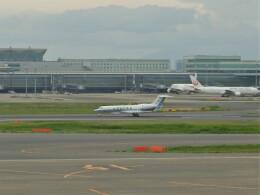 Smyth Newmanさんが、羽田空港で撮影した海上保安庁 G-V Gulfstream Vの航空フォト(飛行機 写真・画像)
