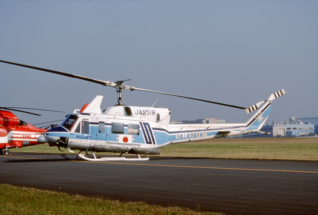 JAパイロットさんが、立川飛行場で撮影した海上保安庁 212の航空フォト(飛行機 写真・画像)
