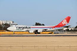 ポン太さんが、成田国際空港で撮影したカーゴルクス 747-4R7F/SCDの航空フォト(飛行機 写真・画像)