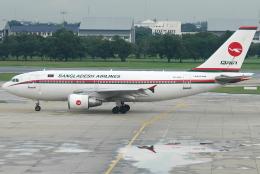 jun☆さんが、ドンムアン空港で撮影したビーマン・バングラデシュ航空 A310-325/ETの航空フォト(飛行機 写真・画像)