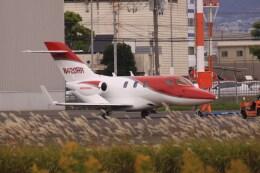 けいとパパさんが、八尾空港で撮影したアメリカ企業所有 HA-420の航空フォト(飛行機 写真・画像)