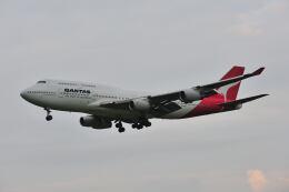 ポン太さんが、成田国際空港で撮影したカンタス航空 747-438の航空フォト(飛行機 写真・画像)
