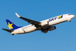 Yukio a.k.a Yu Worksさんが、福岡空港で撮影したスカイマーク 737-8FZの航空フォト(飛行機 写真・画像)