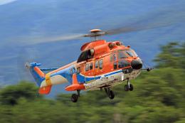 Assk5338さんが、松本空港で撮影した新日本ヘリコプター AS332L1 Super Pumaの航空フォト(飛行機 写真・画像)