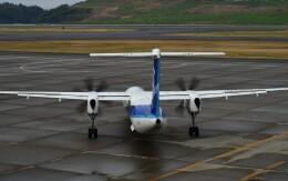 774gonさんが、福島空港で撮影したANAウイングス DHC-8-402Q Dash 8の航空フォト(飛行機 写真・画像)