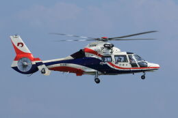 kengo.k@RJFTさんが、熊本空港で撮影した熊本県防災消防航空隊 AS365N3 Dauphin 2の航空フォト(飛行機 写真・画像)
