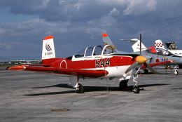 JAパイロットさんが、名古屋飛行場で撮影した航空自衛隊 T-3の航空フォト(飛行機 写真・画像)