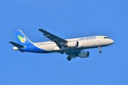 Hiro Satoさんが、スワンナプーム国際空港で撮影したラオス国営航空 A320-214の航空フォト(飛行機 写真・画像)