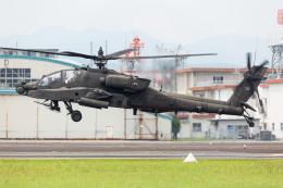(新)ふぁんとむ改さんが、明野駐屯地で撮影したアメリカ陸軍 AH-64Dの航空フォト(飛行機 写真・画像)