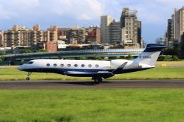HLeeさんが、台北松山空港で撮影した華捷商務航空 G650ER (G-VI)の航空フォト(飛行機 写真・画像)
