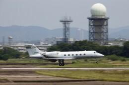 ハミングバードさんが、名古屋飛行場で撮影したダイヤモンド・エア・サービス G-IV Gulfstream IV-SPの航空フォト(飛行機 写真・画像)