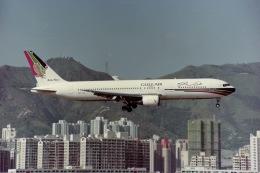 Yossy96さんが、啓徳空港で撮影したガルフ・エア 767-300の航空フォト(飛行機 写真・画像)