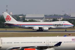 Hariboさんが、ドンムアン空港で撮影したカーゴルクス 747-4R7F/SCDの航空フォト(飛行機 写真・画像)
