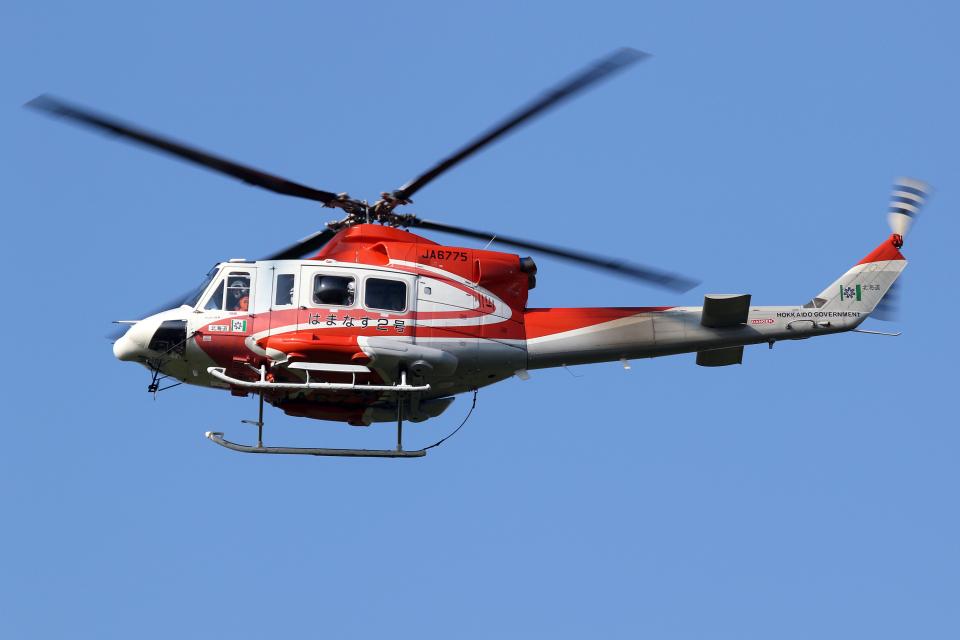 Echo-Kiloさんの北海道防災航空隊 Bell 412 (JA6775) 航空フォト