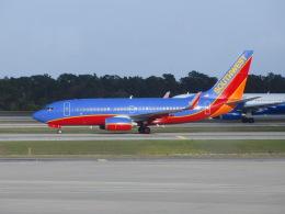 TA27さんが、オーランド国際空港で撮影したサウスウェスト航空 737-7H4の航空フォト(飛行機 写真・画像)