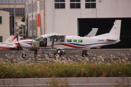 けいとパパさんが、八尾空港で撮影した朝日航空 208B Grand Caravanの航空フォト(飛行機 写真・画像)