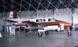 sin747さんが、下総航空基地で撮影した海上自衛隊 B65 Queen Airの航空フォト(飛行機 写真・画像)