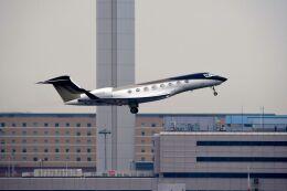 まいけるさんが、羽田空港で撮影したウィルミントン・トラスト・カンパニー G650ER (G-VI)の航空フォト(飛行機 写真・画像)