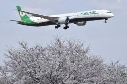 PIRORINGさんが、成田国際空港で撮影したエバー航空 787-10の航空フォト(飛行機 写真・画像)