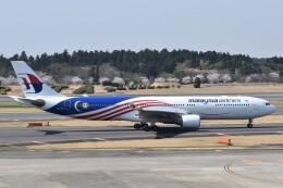 PIRORINGさんが、成田国際空港で撮影したマレーシア航空 A330-323Xの航空フォト(飛行機 写真・画像)