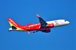 amagoさんが、スワンナプーム国際空港で撮影したタイ・ベトジェットエア A320-214の航空フォト(飛行機 写真・画像)