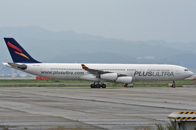 sachiさんが、関西国際空港で撮影したプルス・ウルトラ A340-313Xの航空フォト(飛行機 写真・画像)