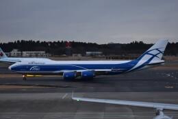 PIRORINGさんが、成田国際空港で撮影したエアブリッジ・カーゴ・エアラインズ 747-8HVF(SCD)の航空フォト(飛行機 写真・画像)