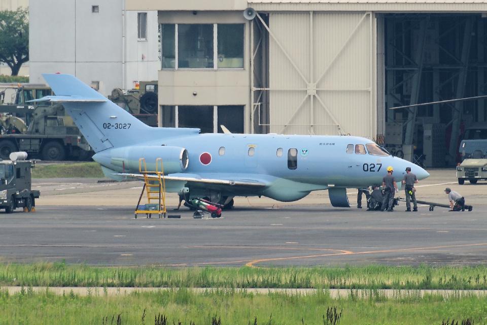yabyanさんの航空自衛隊 Hawker Beechcraft U-125A (02-3027) 航空フォト