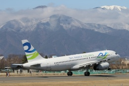 TA27さんが、松本空港で撮影したスカイ・アンコール・エアラインズ A320-232の航空フォト(飛行機 写真・画像)