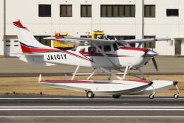 デデゴンさんが、石見空港で撮影した岡山航空 T206H Turbo Stationairの航空フォト(飛行機 写真・画像)