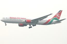 jun☆さんが、香港国際空港で撮影したケニア航空 767-33A/ERの航空フォト(飛行機 写真・画像)
