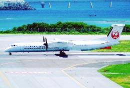 SFJ_capさんが、那覇空港で撮影した琉球エアーコミューター DHC-8-402Q Dash 8 Combiの航空フォト(飛行機 写真・画像)