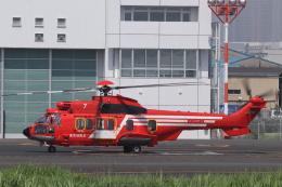 KAZFLYERさんが、東京ヘリポートで撮影した東京消防庁航空隊 EC225LP Super Puma Mk2+の航空フォト(飛行機 写真・画像)